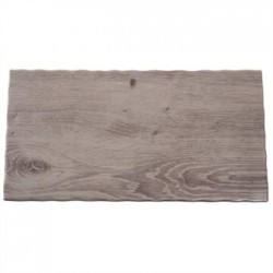 APS Wood Effect Melamine Tray GN 1/3