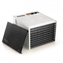 Excalibur 9 Tray White Dehydrator with Timer 4926TW