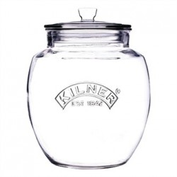 Kilner Push Top Preserve Jar 4Ltr