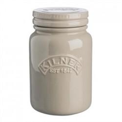 Kilner Ceramic Storage Jar Pebble Grey 600ml