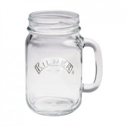 Kilner Handled Mason Jar 400ml