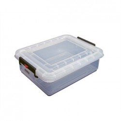 Araven Food Storage Box and Lid with Colour Clips