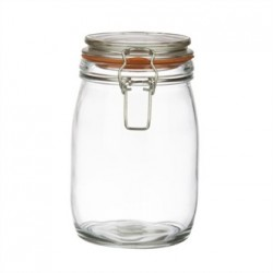 Vogue Clip Top Preserve Jar 1Ltr