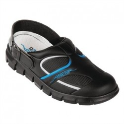 Abeba Microfibre Slip On Clogs Size 42