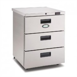 Foster 3 Drawer 150Ltr Under Counter Fridge HR150 13/105