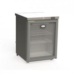 Foster 1 Glass Door 150Ltr Under Counter Fridge with Light HR150 13/109