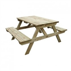 Wooden Picnic Bench 4ft