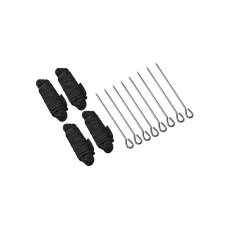 Pegs and Ropes for Aluminium Gazebo