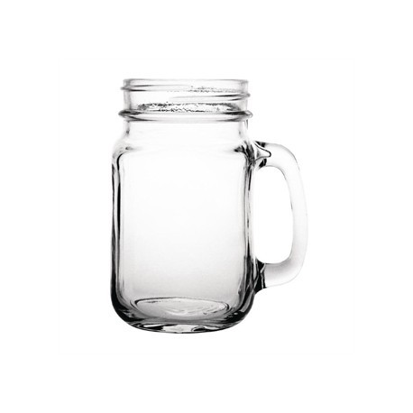 Olympia Handled Jam Jar Glasses