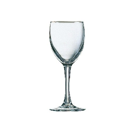 Arcoroc Princesa Wine Glasses 230ml CE Marked at 175ml