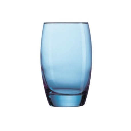 Arcoroc Salto Ice Blue Hi Balls Glasses 350ml