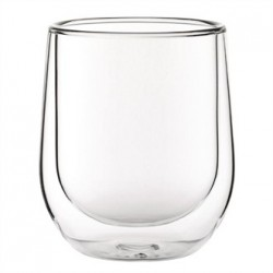 Double walled Latte Glass 270ml