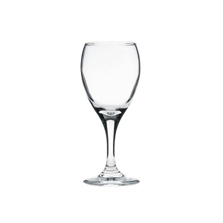 Libbey Teardrop White Wine Glasses 190ml CE Marked at 125ml
