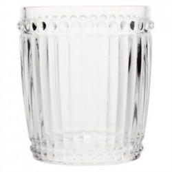 Olympia Baroque Whiskey Glass Clear 325ml