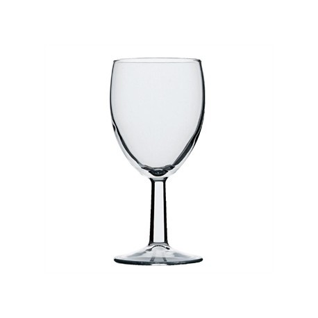 Saxon Wine Goblets 260ml CE Marked at 175ml