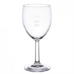 Arcoroc Savoie Grand Vin Wine Glasses 350ml CE Marked at 125ml 175ml and 250ml