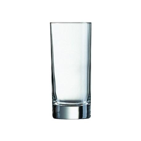 Arcoroc Islande Nucleated Hi Ball Glasses 290ml CE Marked