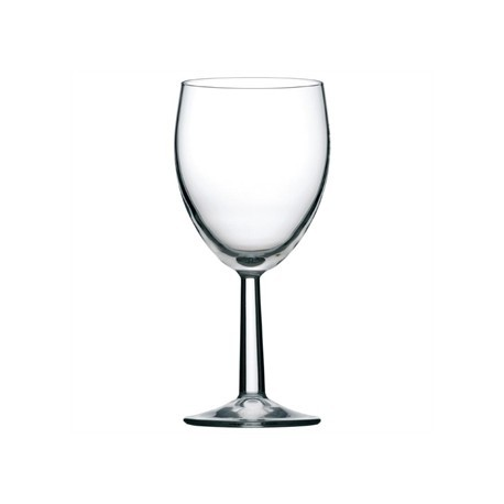 Saxon Nucleated Wine Goblets 340ml CE Marked at 125ml 175ml and 250ml