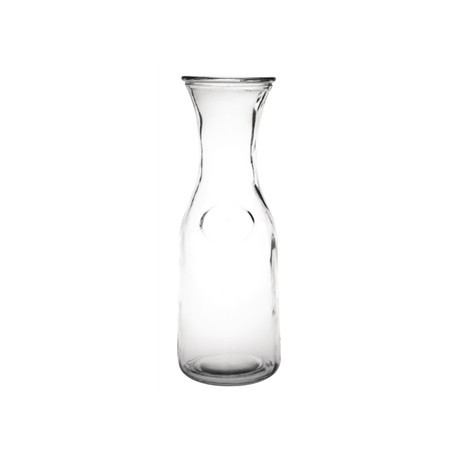 Olympia Glass Carafe 1Ltr