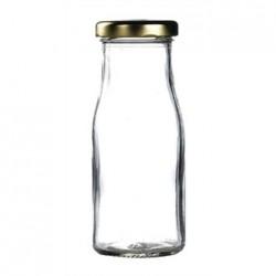 Gold Cap for Mini Milk Bottles