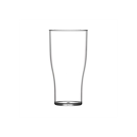 BBP Polycarbonate Nucleated Half Pint Glasses  CE Marked