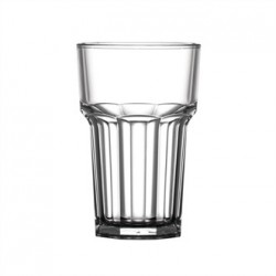BBP Polycarbonate Nucleated American Hi Ball Glasses Half Pint CE Marked