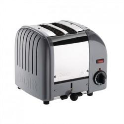 Dualit Vario Classic Toaster 2 Slot Cobble Grey 20403