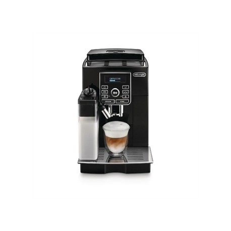 Delonghi Magnifica S Bean to Cup Compact Coffee Maker with Automatic Cappuccino System Black