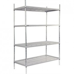 Craven 4 Tier Nylon Coated Wire Shelving 1700x1175x391mm
