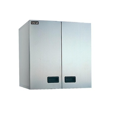 Lincat Stainless Steel Wall Cupboard Double 600mm