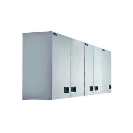 Lincat Stainless Steel Wall Cupboard Double 750mm