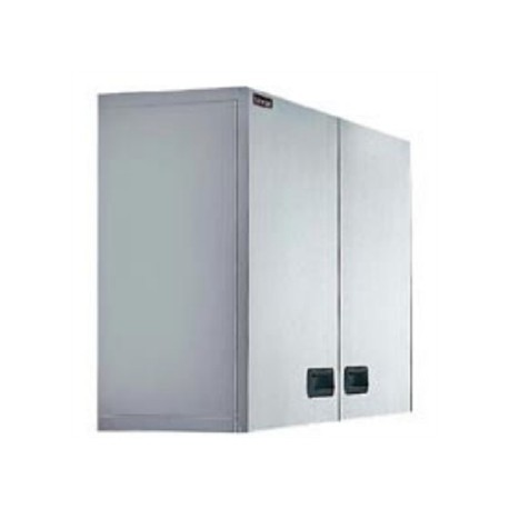 Lincat Stainless Steel Wall Cupboard Double 900mm