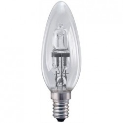 Status Halogen Candle Bulb SES 28W