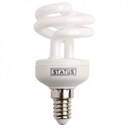 Status CFL Low Energy  Mini Spiral Bulb 14W