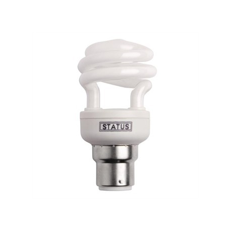 Status CFL Low Energy Mini Spiral Bulb 14W