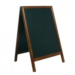 Securit Duplo Pavement Board Dark Wood 55 x 85cm