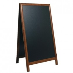 Securit Duplo Pavement Board Dark Wood 68 x 120cm