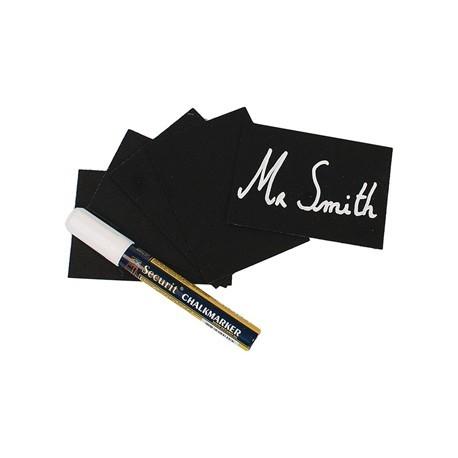 Securit Mini Chalkboard Tag Kit A8