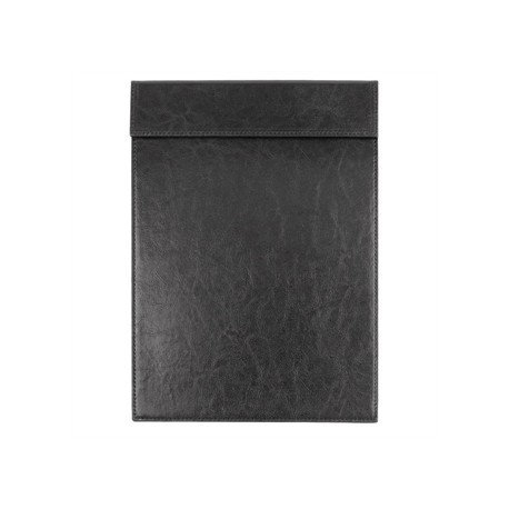 Olympia Leatherette Magnetic Menu Holder Black A4