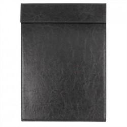 Olympia Leatherette Magnetic Menu Holder Black A5