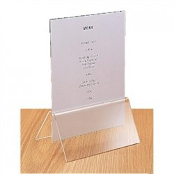 Acrylic Menu Card Holder A5