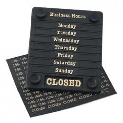 Door Sign - Open/Closed