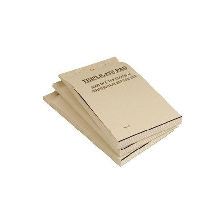 Restaurant Waiter Pad Triplicate 95 x 165mm