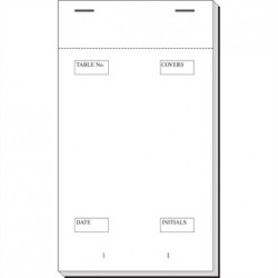 Restaurant Waiter Pad Duplicate 90 x 165mm