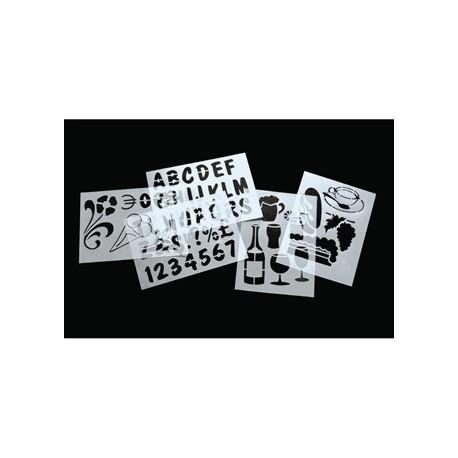 Zig Stencil Set