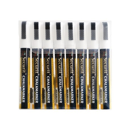 Securit Wipe Clean White Markers