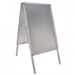 A-Frame Pavement Sign Aluminium