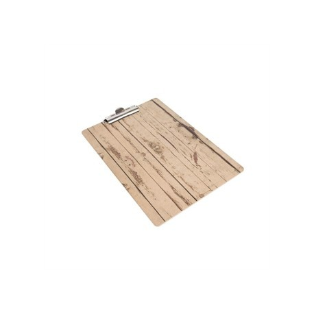 Wood Effect A5 Menu Presentation Clipboard