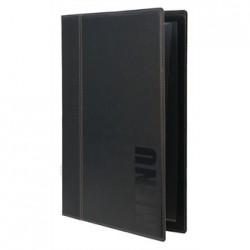 Securit Contemporary Menu Holder A4 Black