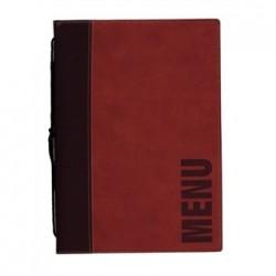 Securit Contemporary Menu Holder A4 Red